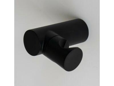 Meir matte black hand shower holder portable